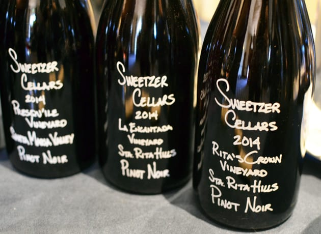 Sweetzer Cellars Pinot Noir