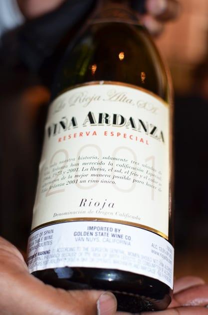 La Rioja Alta Vina Ardanza 2001