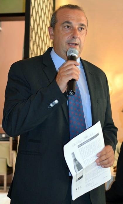 Winemaker Julio Saenz Fernandez