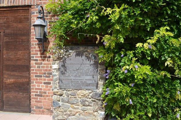 Livermore Valley Concannon Vineyard Historical Plaque
