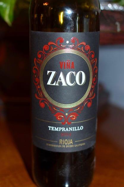Vina Zaco Tempranillo