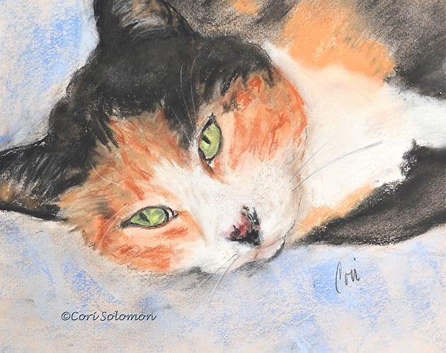 Milly Calico Cat by Cori Solomon