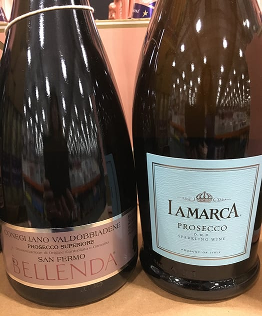 New Year's Prosecco Selection