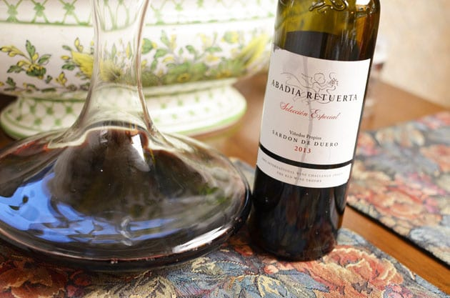 Abadi Retuerta Seleccion Especial, winter wine