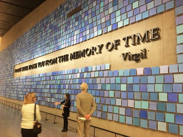 911 Museum Blue Mosaic Memorial