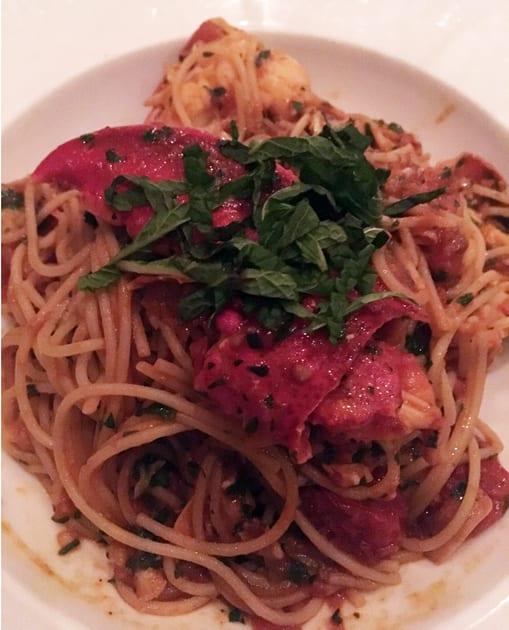 Esca Gluten-free Pasta with Lobster