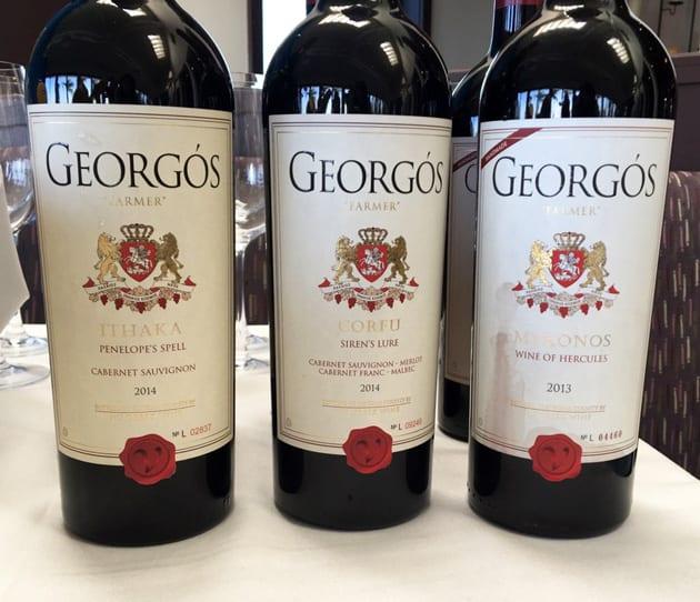 Georgos Nu Greek Wines Reds