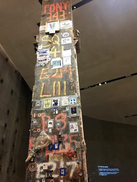 Ground Zero First Responder Pillar