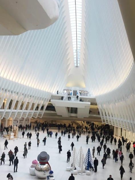 Visit New York City Oculus Interior