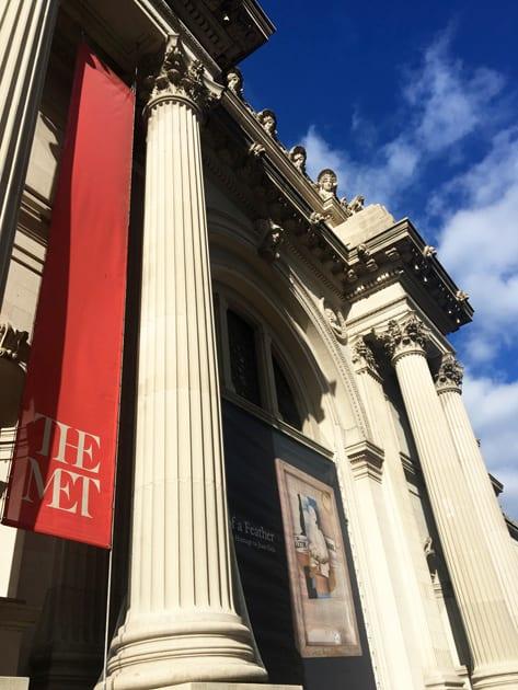 Visiting New York City Metropolitan Museum of Art
