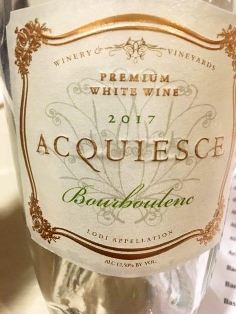 Acquiesce Bourboulenc