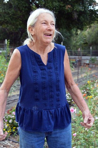 Diane, the garden lady