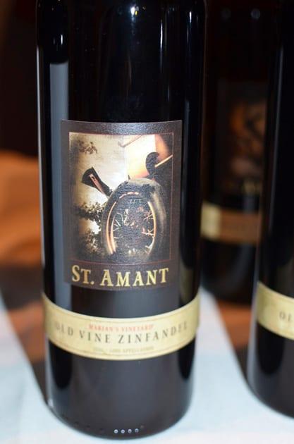 St. Amant Old Vine Zinfandel, Marian's Vineyard