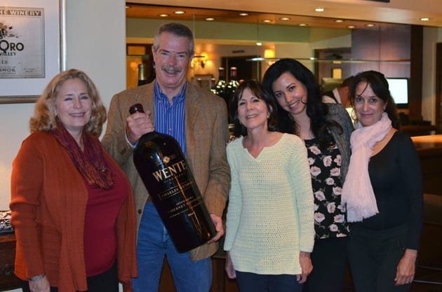 Visiting Wente Vineyards with Phil Wente