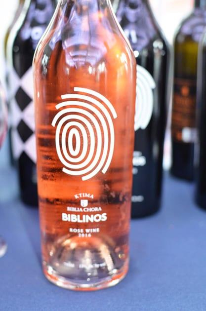 Biblinos Rose, a yet to be named Greek Wine Varietals