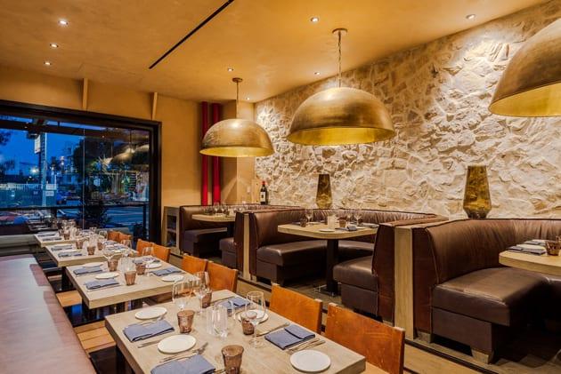 Interior Italian Eatery No. 10 Restaurant. Photo Courtesy of N.10