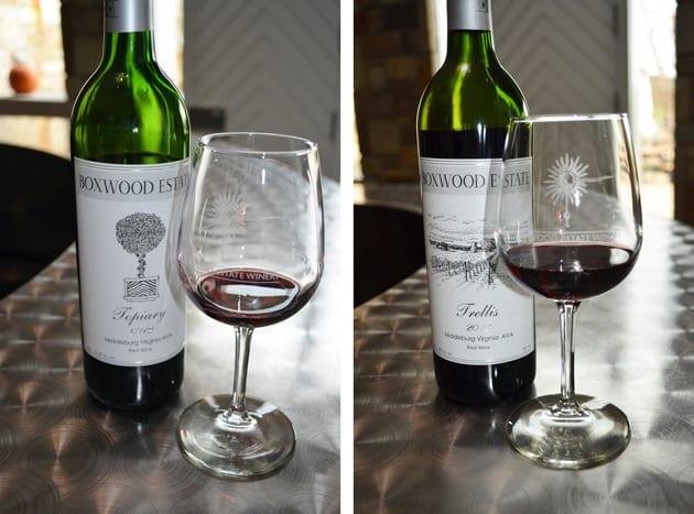 Boxwood Topiary and Trellis Wines