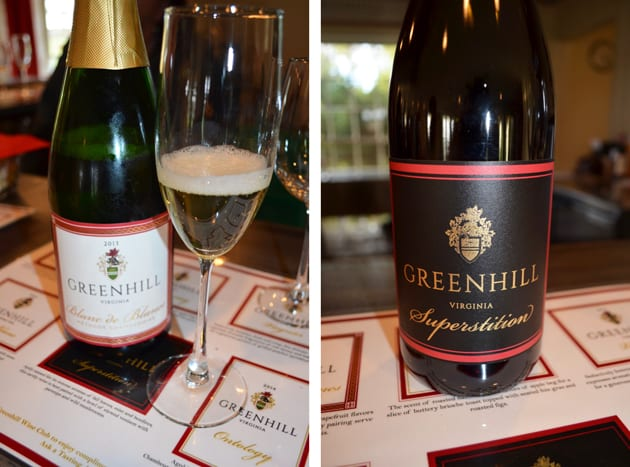 Greenhill Blanc de Blancs and Superstition