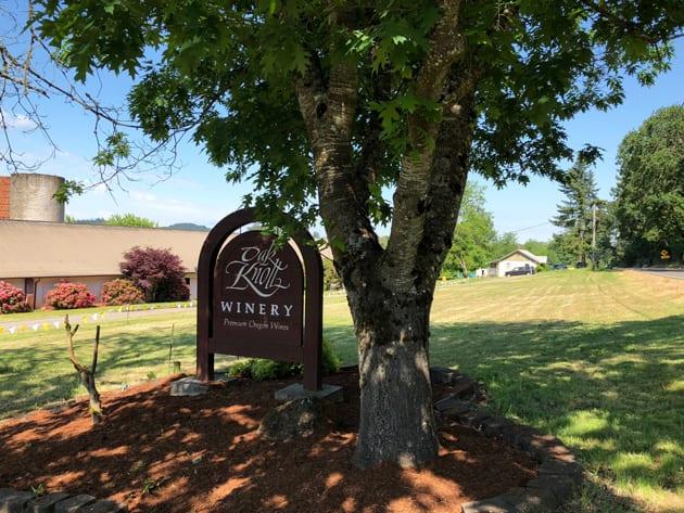 Dog-Friendly Places Oak Knoll Winery