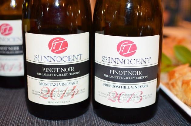 St Innocent Pinot Noir Momtazi Vineyard and Freedom Hill Vineyard