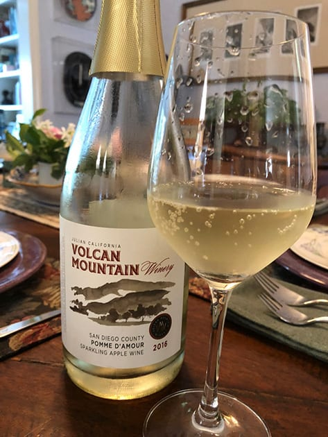 Volcan Mountain Pomme D'Amour Sparkling Apple Wine