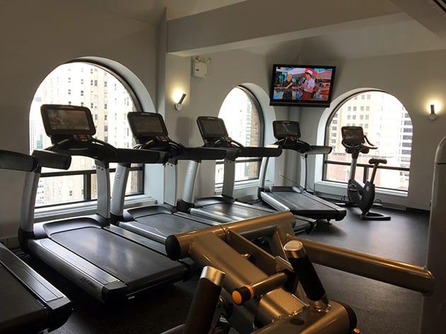 Marriott East Side Fitness Room