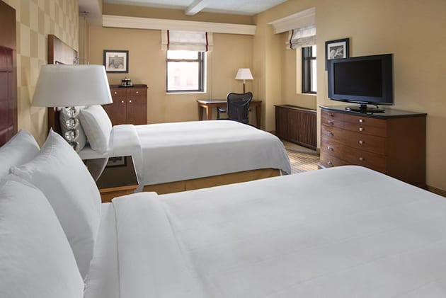 Guest Suite at New York Marriott East Side