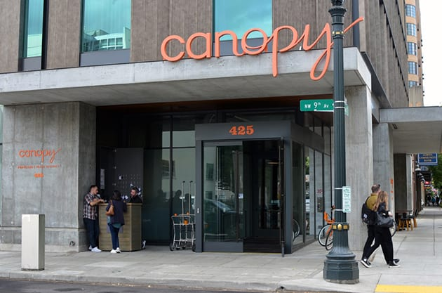 Weekend Escape Canopy by Hilton