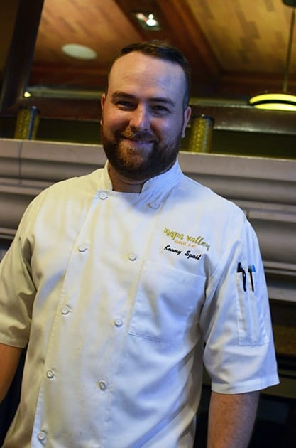 Napa Valley Grille Chef Kenny Spost