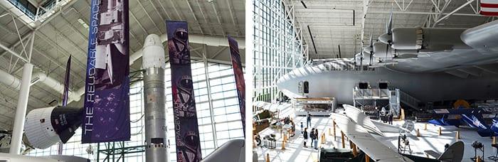 Titan II and Spruce Goose