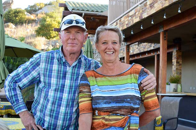 Laurie Wagner and Ian Vaux - Turtle Rock Ridge Winery