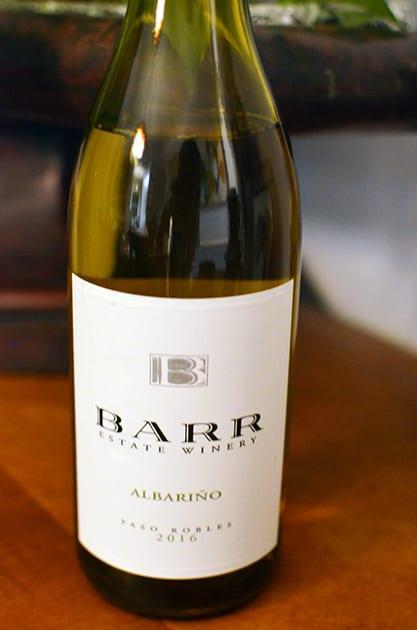 Barr Estate Winery Albarino