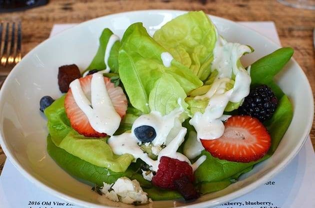 Napa Valley Grille B & B Salad