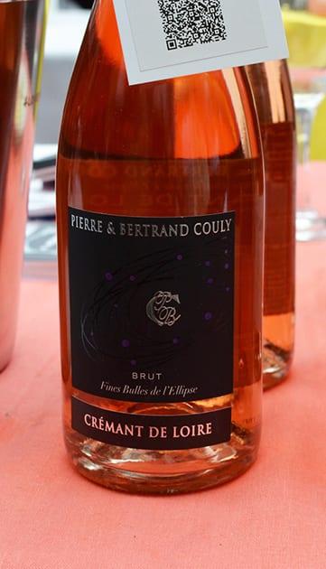 Pierre & Bertrand Couly Brut Fines Bulles de l ellipse Cremant De Loire