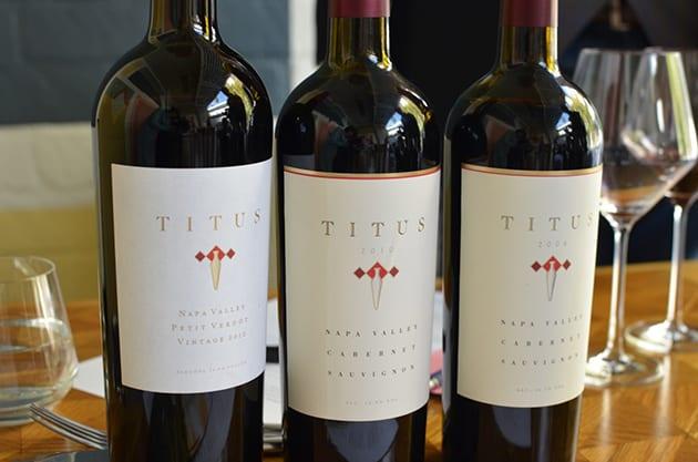 Titus Napa Vineyard Cabernet Sauvignon