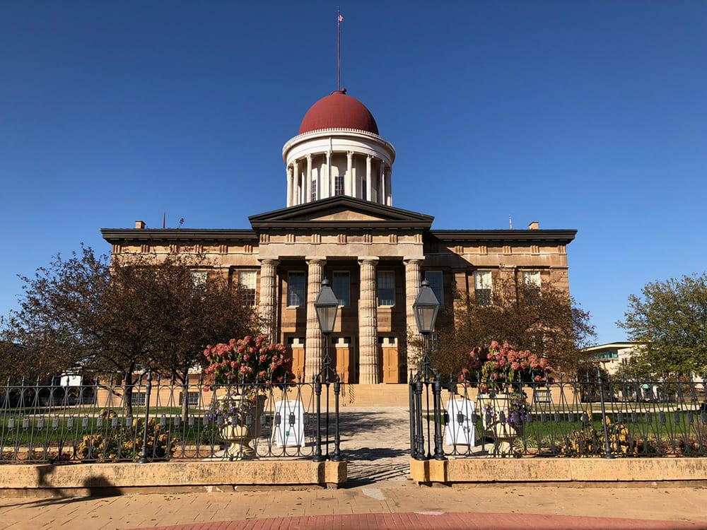 Visit Springfield Old State Capitol Land of Lincoln