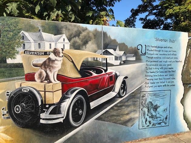 Bobbie The Wonder Dog, Silverton Mural