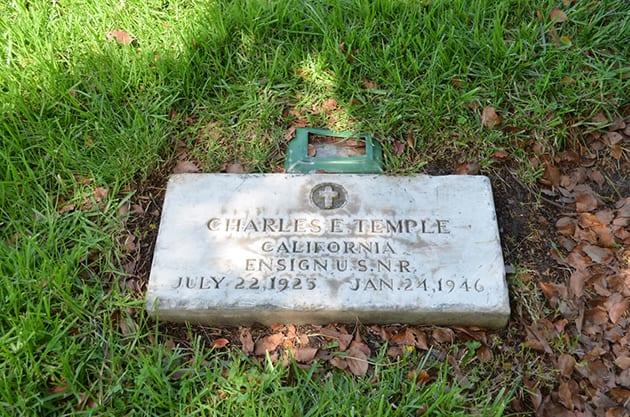Bonus, Handler Charles E Templeton Headstone