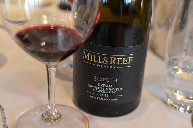 Mills Reef Elspeth Syrah Gimblett Gravels Hawkes Bay