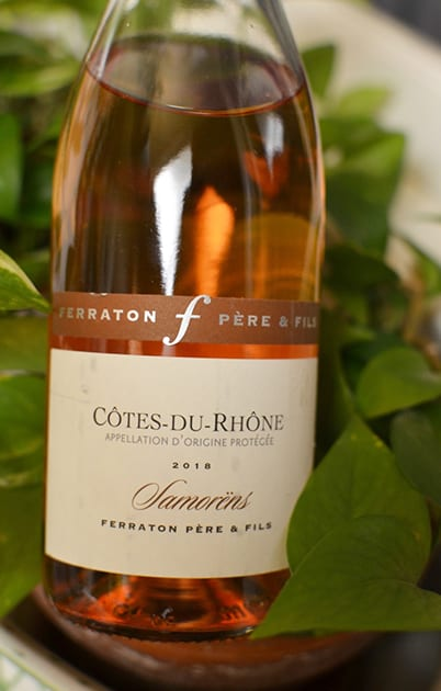Ferraton Pere & Fils Cotes Du Rhone Samorens Rose