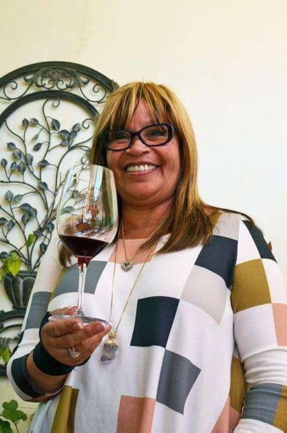 Altipiano Vineyards owner/winemaker Denise Clark