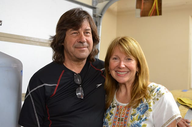 Domaine Artefact Owners Mark and Lynn Robinson