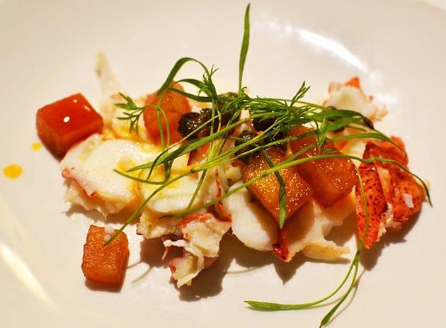 Napa Valley Grille Lobster Carpaccio
