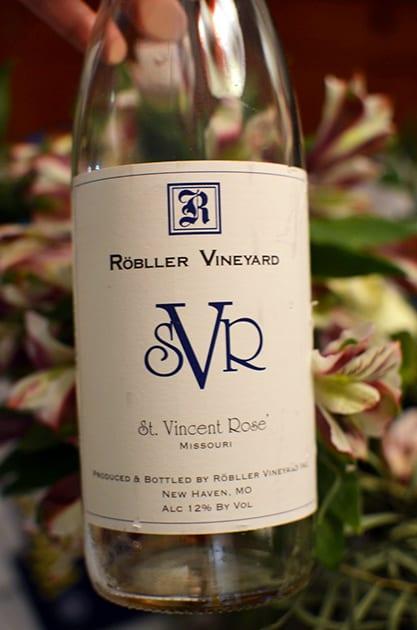 Robller Vineyard St. Vincent Rose
