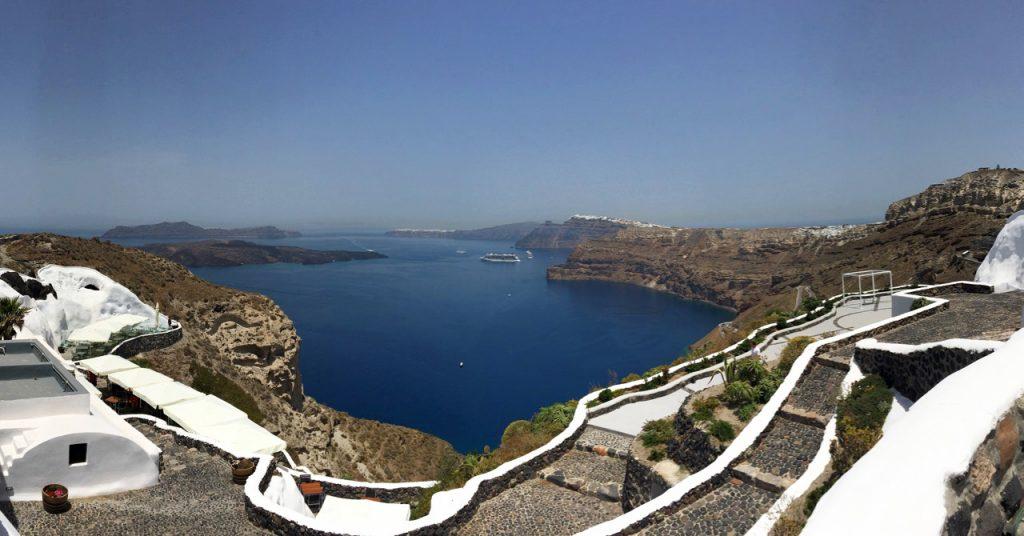 View from Venetsanos Winery (c) Cori Solomon