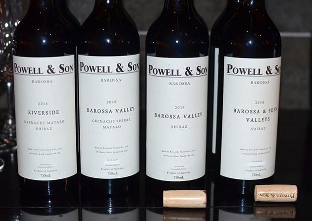 Barossa Valley Wines Flight I
