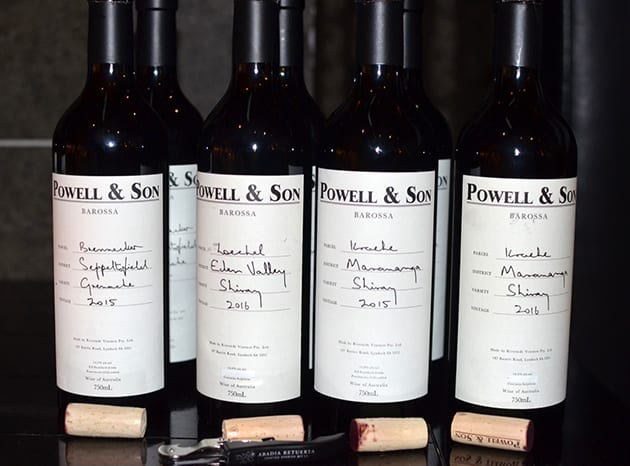 Barossa Valley Wines Flight II