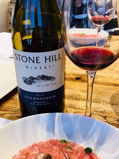 Stone Hill Winery Chambourcin