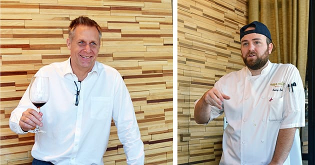Napa Valley Grille GM Brian Cousins - Chef Kenny Spost