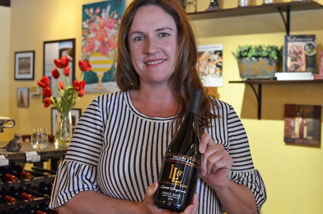 Lucas & Lewellen winemaker, Megan McGrath Gates